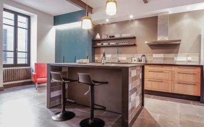 Décoration et aménagements d'une maison de ville de 78 m² – Nîmes