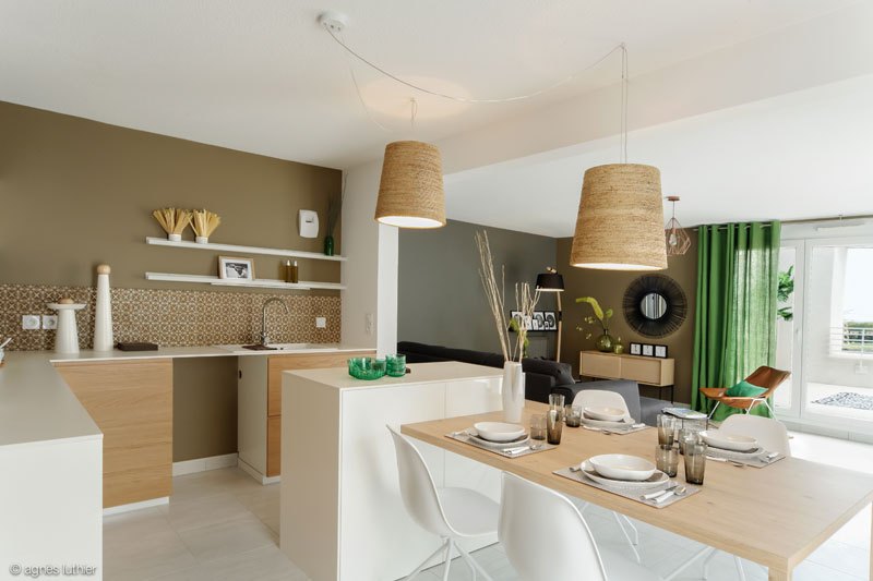 Decoration appartement temoin nexity so park 175 agnes - Decoration interieur appartement 2 pieces ...