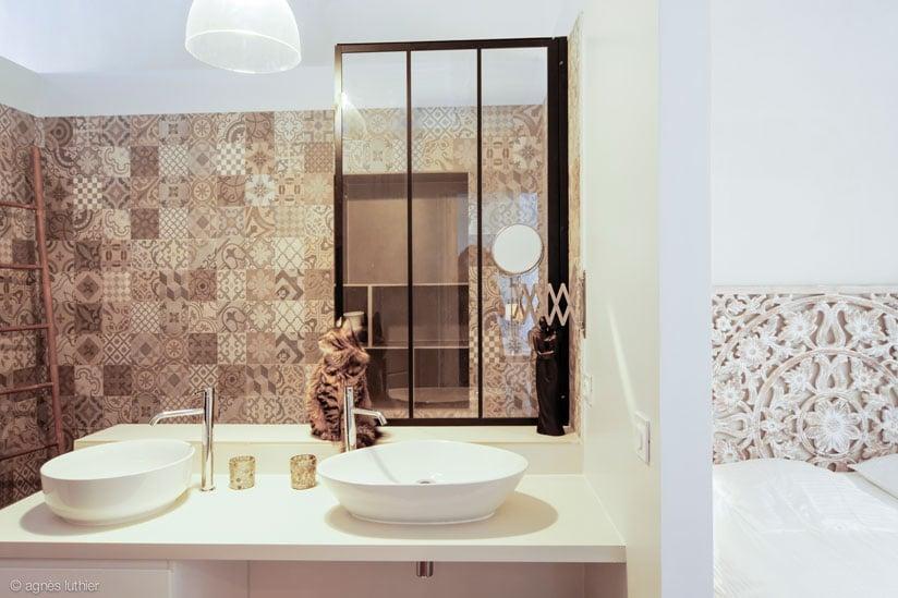 création de 3 appartements airbnb dans une vieille maison de village à Pézenas